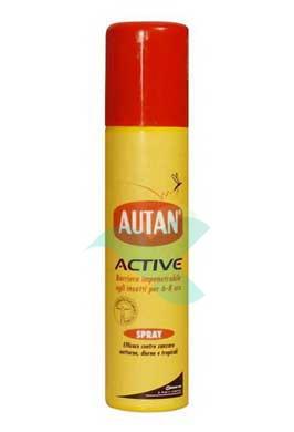 Autan Linea Active Spray Delicato Insetto-Repellente 100 ml
