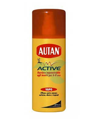 Autan Linea Active Vapo Spray Delicato Insetto-Repellente 150 ml