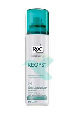 RoC Linea Deodoranti Keops Deodorante Spray Secco Senza Alcool 150 ml