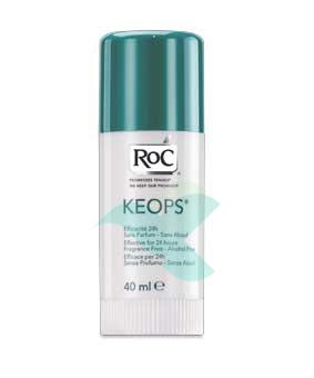 RoC Linea Deodoranti Keops Deodorante in Stick Senza Alcool 40 ml