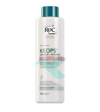 RoC Linea Detergenza Keops Doccia Crema Nutriente Pelli Sensibili 400 ml