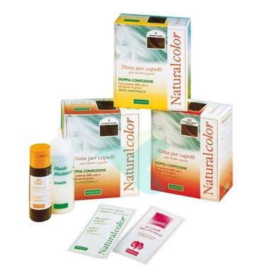 Specchiasol Linea Homocrin Naturalcolor Tinte per Capelli Colore 4/4 Castano Ram