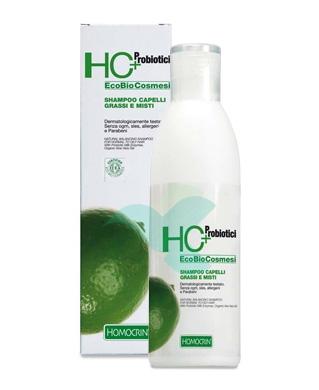 Specchiasol Linea Homocrin HC+ Eco Bio Shampoo Capelli Grassi e Misti 250 ml