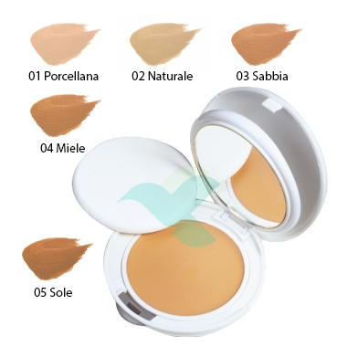 Avene Linea Couvrance Coprente Crema Compatta Oil Free Colore 03 Sabbia