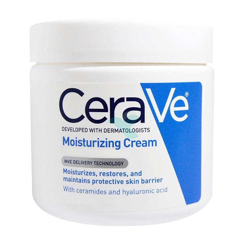 CeraVe Linea Trattamento Idratante Moisturizing Cream Crema Protettiva 340 g