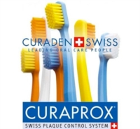 Curaden Curaprox Dental Floss Bridge e Implant 30 Fili Interdentali Pretagliati
